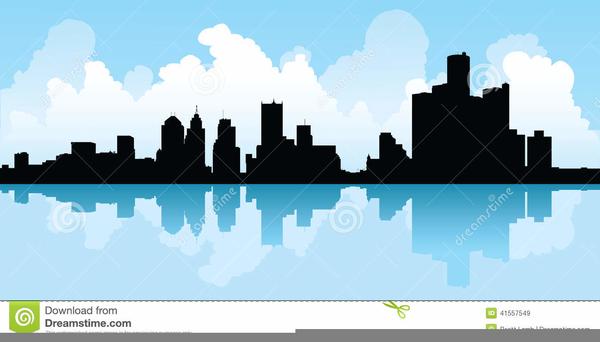 Detroit clipart banner Detroit Skyline Clipart | Free Images at Clker.com - vector clip art ... banner