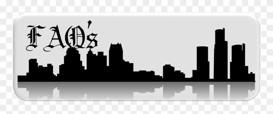 Detroit clipart vector stock 2018 Fundraising Letter - Detroit Skyline Silhouette Png Clipart ... vector stock