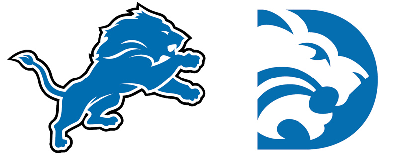 Detroit lions clipart free black and white Free Detroit Lions Logo Stencil, Download Free Clip Art, Free Clip ... black and white