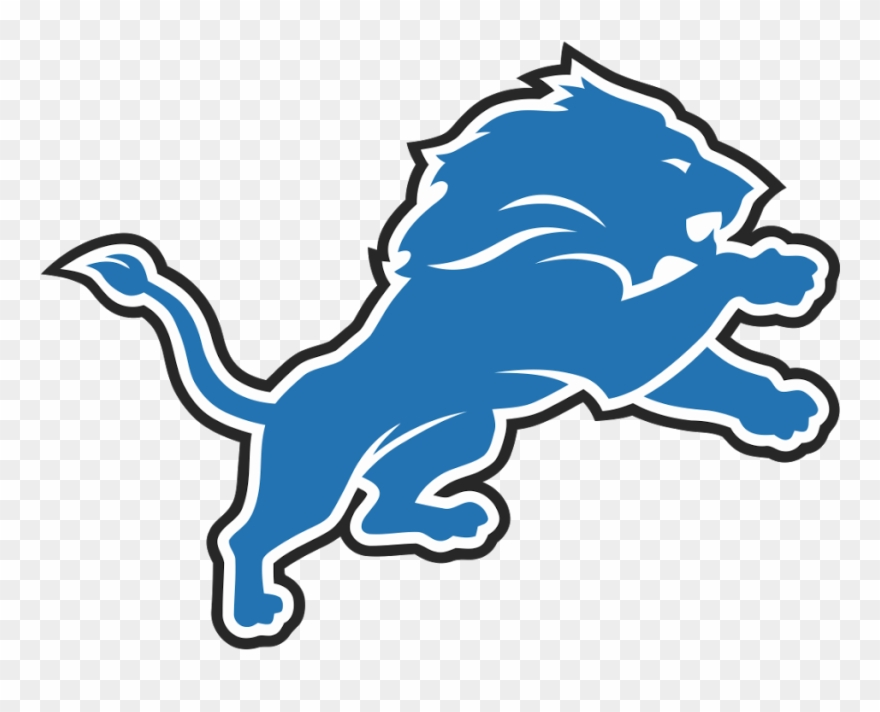 Detroit lions clipart free png free stock Detroit Lions Logo - Detroit Lions Clipart (#445108) - PinClipart png free stock