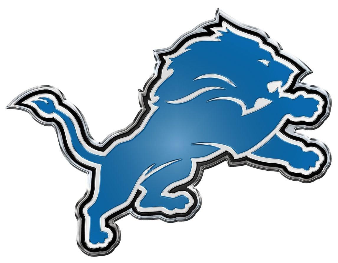 Detroit lions symbol clipart transparent stock Detroit Lions Die Cut Color Auto Emblem   Products   Detroit lions ... transparent stock