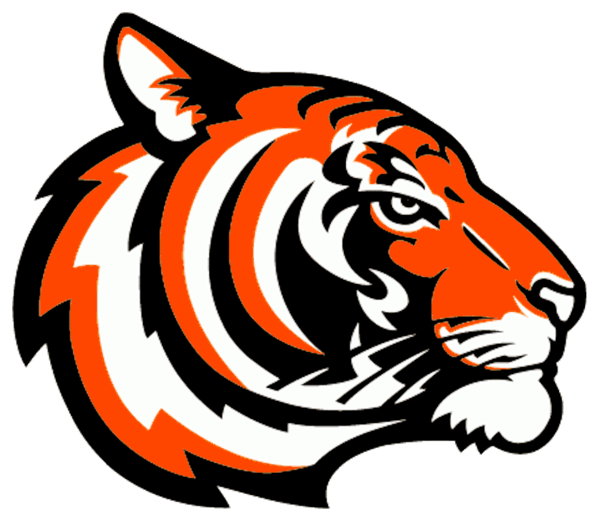 Tiger baseball clipart