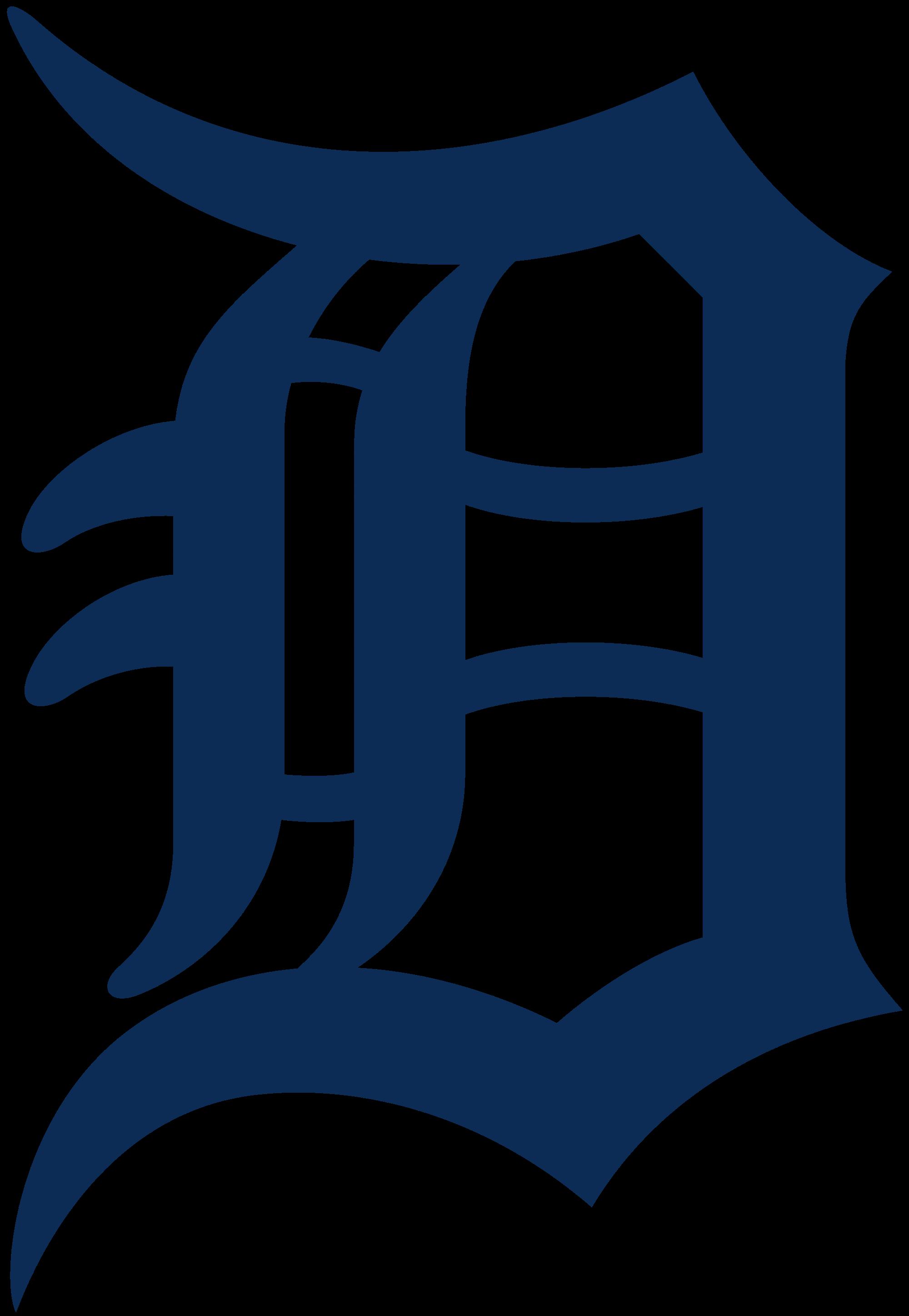 Detroit tigers baseball clipart picture transparent stock File:Detroit Tigers logo.svg - Wikimedia Commons picture transparent stock