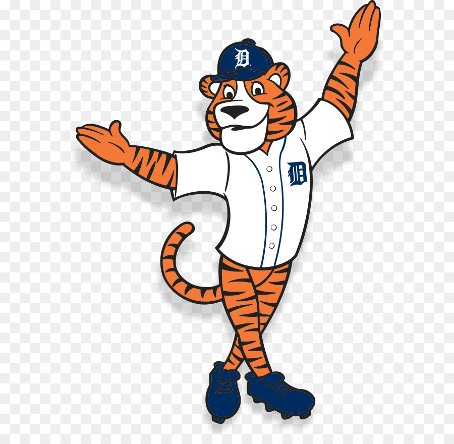 Free detroit tigers clipart svg black and white library Detroit Tigers Mascot png download - 626*867 - Free Transparent ... svg black and white library