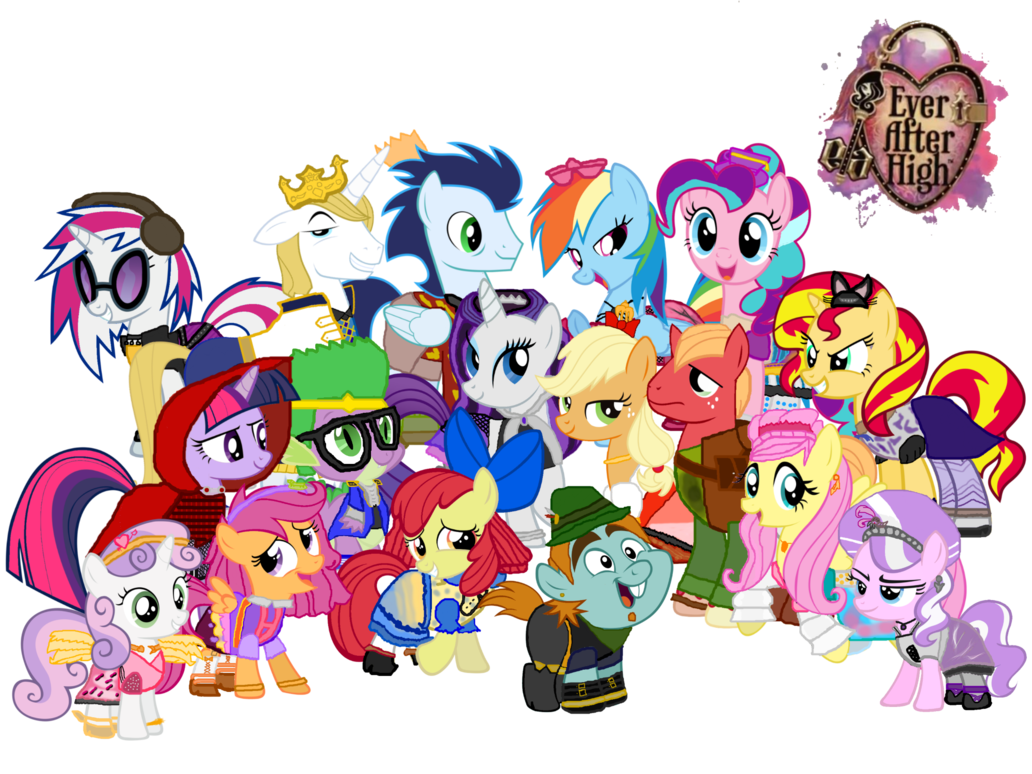 Deviantart group clipart size banner download My Little Pony/Ever After High Cosplay Group Photo by ... banner download