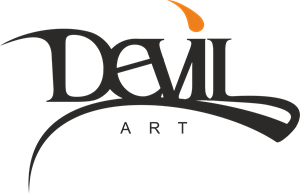 Devil art photography logo clipart clip art black and white library Devil Logo Vectors Free Download clip art black and white library