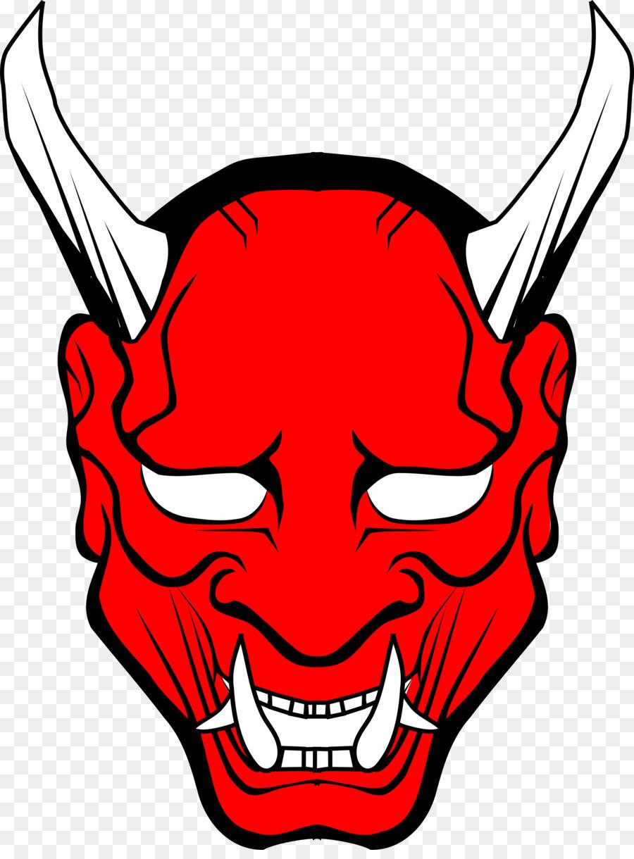 Devil at the pulpit clipart jpg royalty free download Lucifer Devil Satan Clip Art - Oni Mask #499070 - PNG Images - PNGio jpg royalty free download