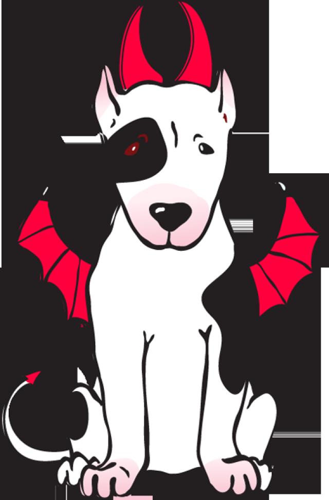 Devil dog clipart banner Devil Dog Clip Art Clipart - Free Clipart banner