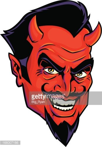 Devil face clipart clip royalty free stock The Devil Face premium clipart - ClipartLogo.com clip royalty free stock