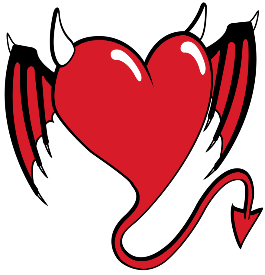 Devil heart clipart png transparent download devil heart by aktn on DeviantArt png transparent download