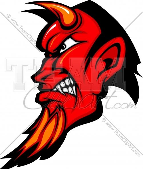 Devil logo clipart image freeuse Devil Logo Clipart Cartoon Image. Easy to Edit Vector Format. image freeuse