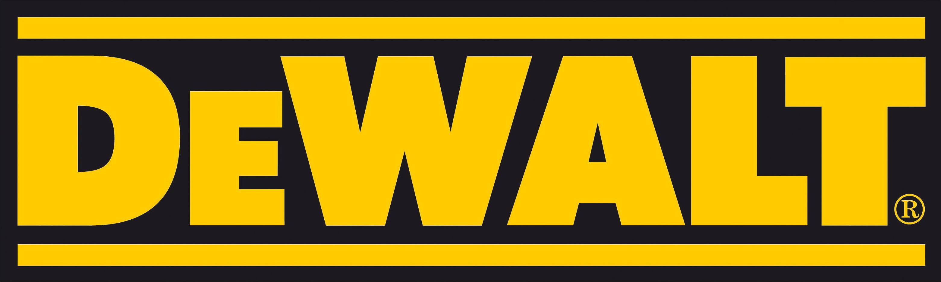 Dewalt logo clipart banner black and white library DeWalt logo — HomCo Lumber & Hardware banner black and white library