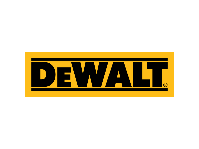 Dewalt logo clipart picture black and white Collection of 14 free Dewalt logo png bill clipart dollar sign ... picture black and white