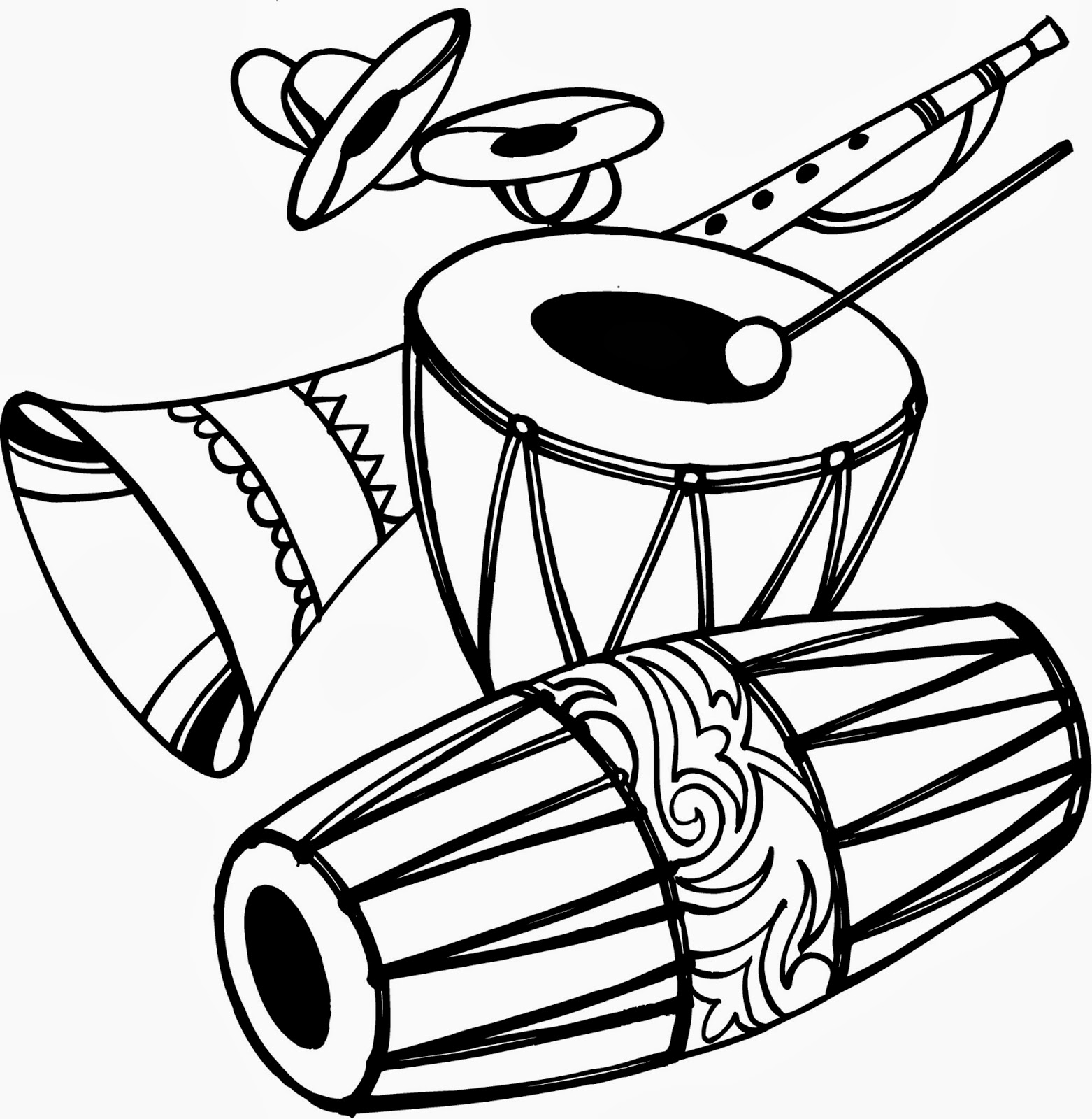 Dhol clipart image download Dhol Cliparts - Cliparts Zone image download