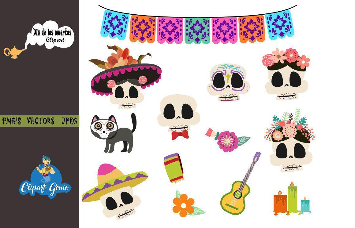 Dia clipart jpg download Day of the dead clipart, dia de los muertos clipart, Fiesta Clip Art ... jpg download