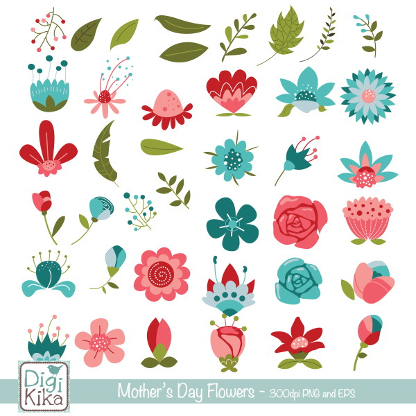 Dia das maes clipart png freeuse download Clipart Flores Dia das Mães png freeuse download