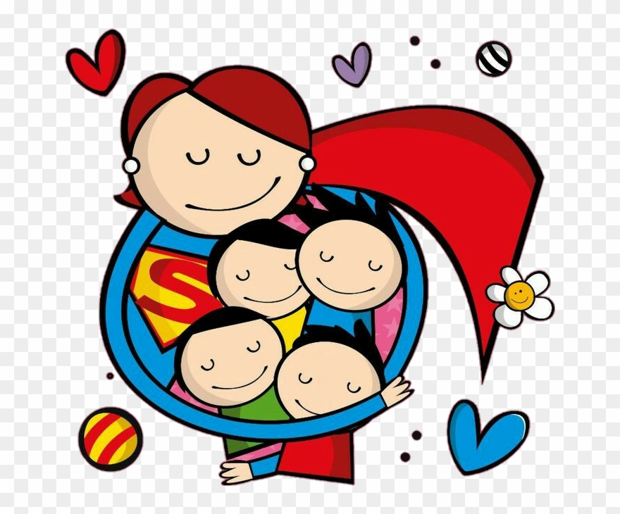 Dia das maes clipart clipart library download Mom Mother Supermom Supermamae Supergirl Kids Crianças - Feliz Dia ... clipart library download