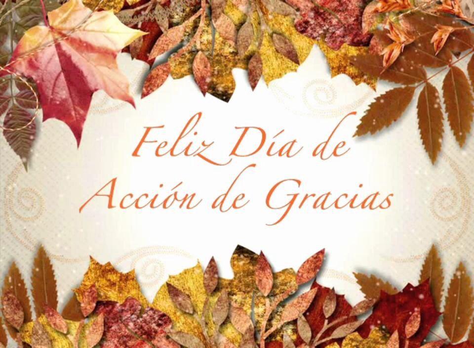 Dia de accion de gracias espanol clipart banner library stock Feliz Dia de Accion de Gracias! | • Quotes • | Happy thanksgiving ... banner library stock