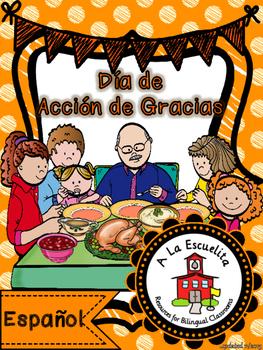 Dia de accion de gracias espanol clipart png freeuse library Accion De Gracias Worksheets & Teaching Resources | TpT png freeuse library