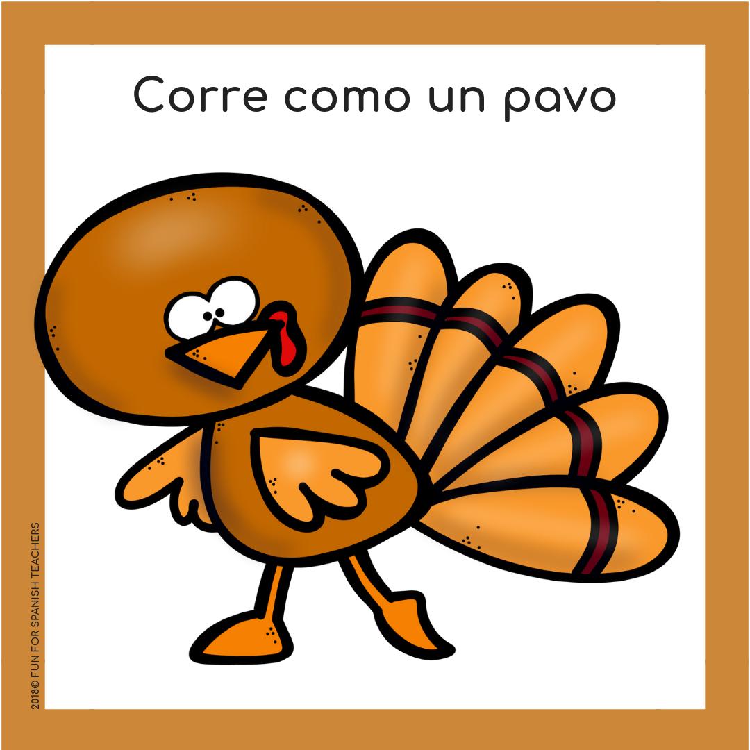 Dia de accion de gracias espanol clipart clip transparent El Día de Acción de Gracias Archives - FunForSpanishTeachers clip transparent