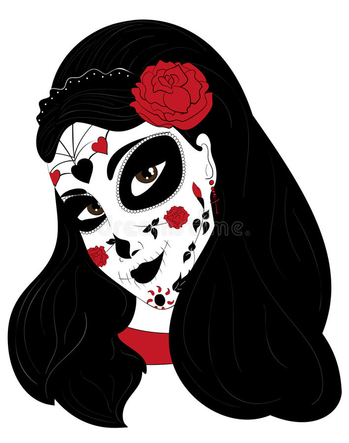 Dia de los muertos girly skull clipart clip free library Dia de los muertos clipart mask - 126 transparent clip arts, images ... clip free library