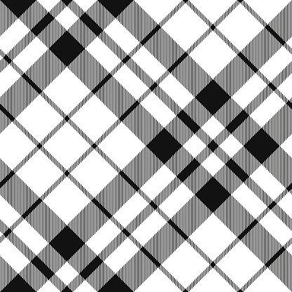 Diagonal pattern clipart clip art library Hibernian FC Tartan Black and White Plaid Diagonal Pattern Seamless ... clip art library