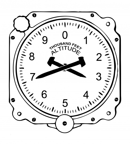 Dial gauge clipart graphic royalty free library Altimeter Dial Clipart Free Stock Photo - Public Domain Pictures graphic royalty free library