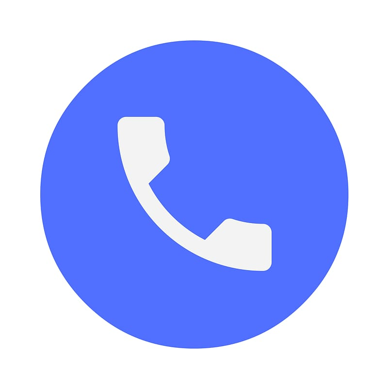 Dialer icon clipart png transparent download Blue call icon, Dialer Android Google Play Telephone, phone ... png transparent download