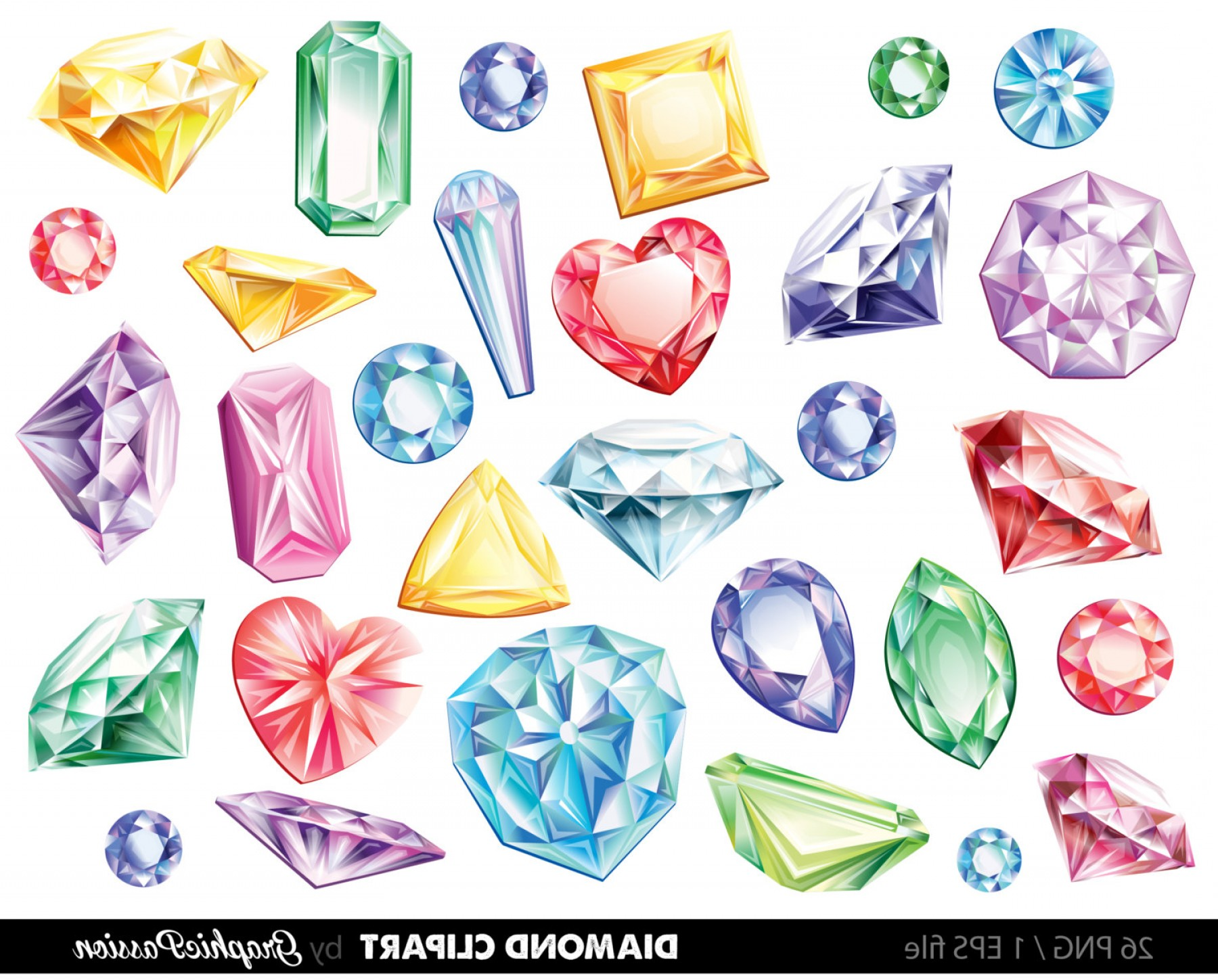 Diamnods clipart clipart free stock Diamonds Clipart Vector Gems Clip Art   SOIDERGI clipart free stock