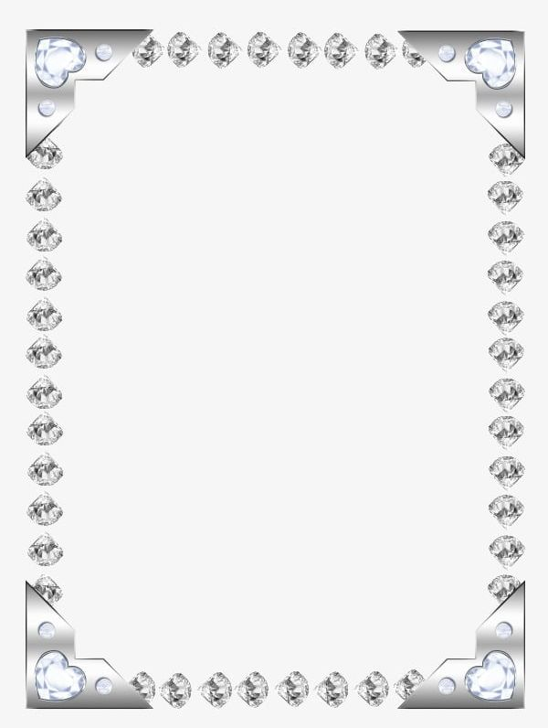Diamond frame clipart clipart freeuse library Silver Frame PNG, Clipart, Continuous, Diamond, Frame, Frame Clipart ... clipart freeuse library