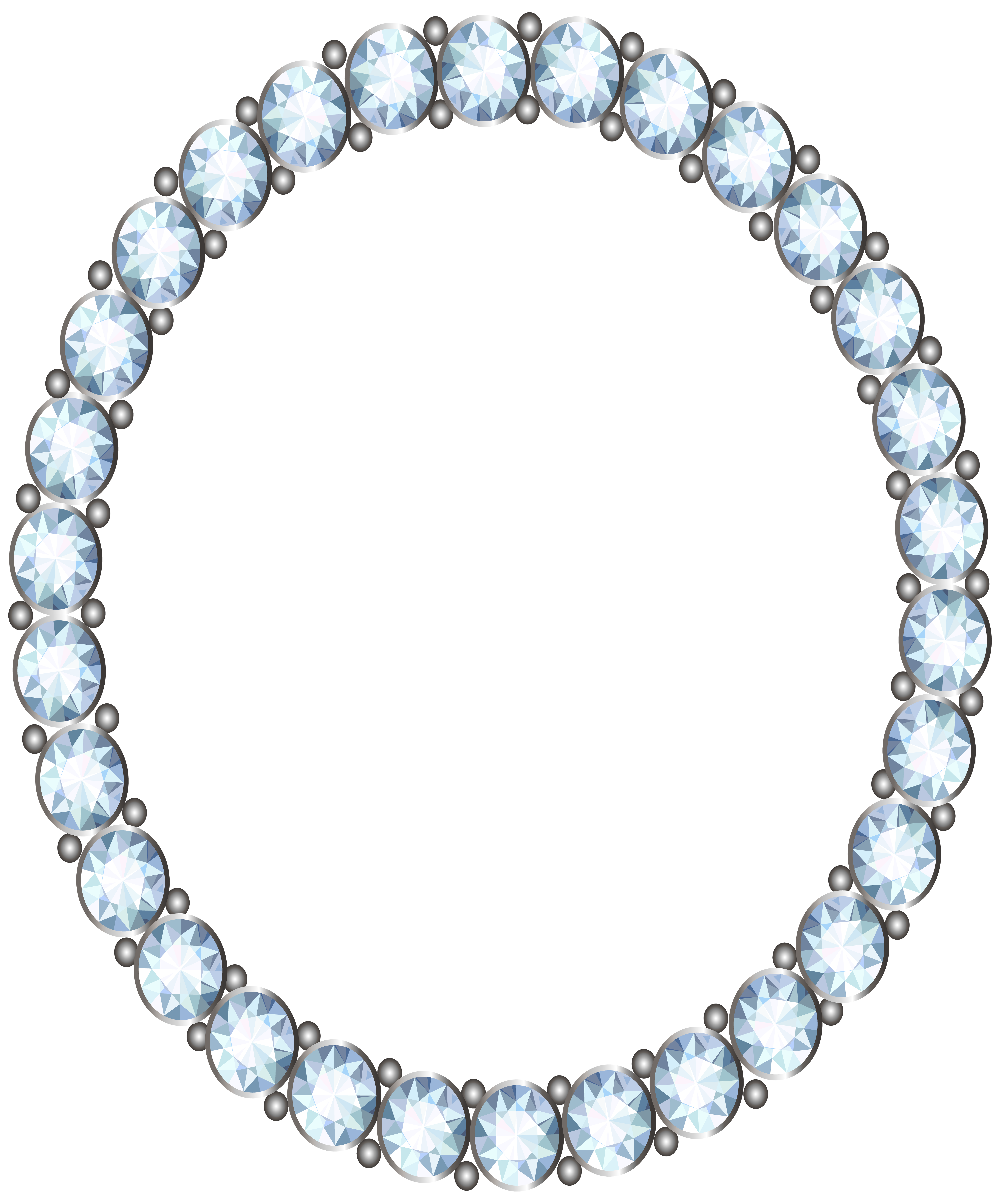 Diamond frame clipart png freeuse library Diamond Frame PNG Clip Art Image | Gallery Yopriceville - High ... png freeuse library