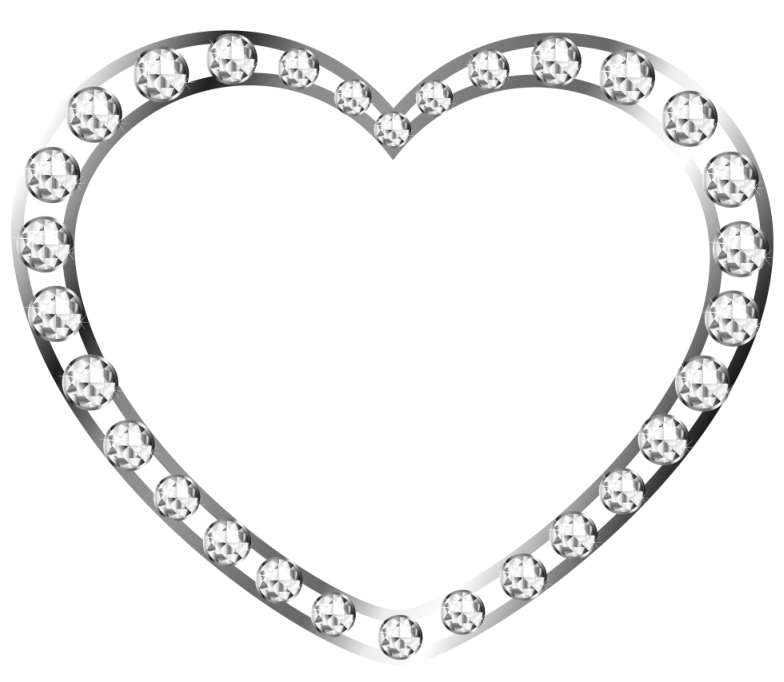 Heart diamond clipart png black and white download Diamond Heart Cliparts Free Download Clip Art - carwad.net png black and white download