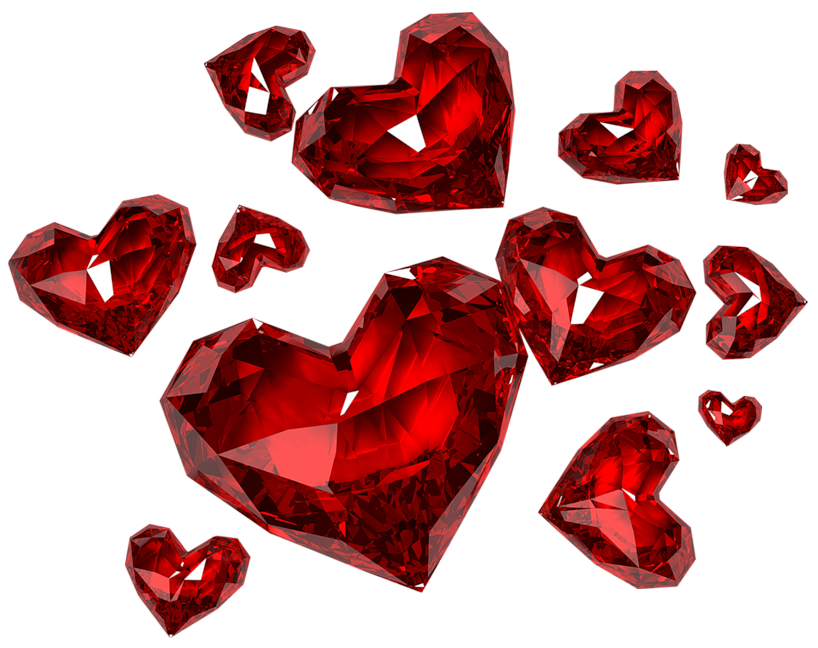 Heart diamond clipart clip transparent download Diamond Hearts PNG Clipart | Love/Hearts❤ (Charms) | Pinterest ... clip transparent download