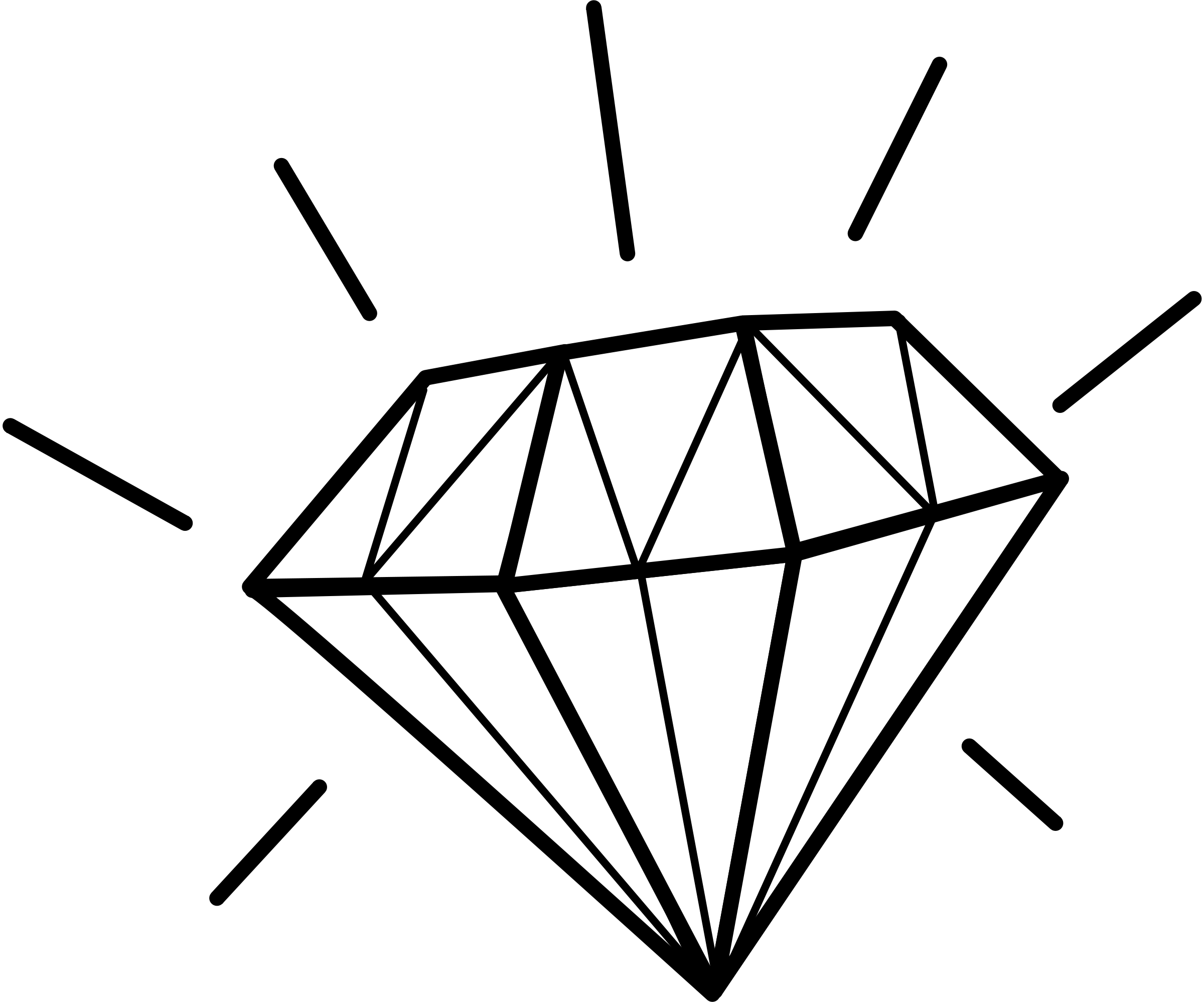 Diamond line clipart image freeuse download Diamond Line Art | Free download best Diamond Line Art on ClipArtMag.com image freeuse download