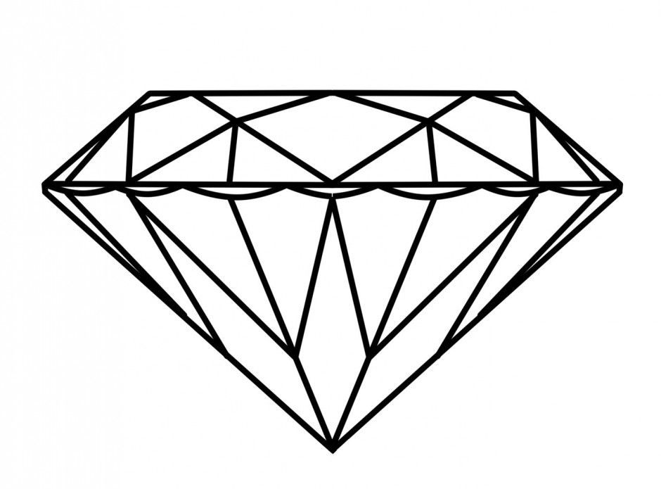 Diamond logo clipart picture download Diamond Ring Coloring Page | Clipart Panda - Free Clipart Images ... picture download