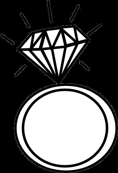 Diamond wedding ring clipart vector freeuse download Diamond Ring Engagement Wedding Graphic Rings Clipart Png - AZPng vector freeuse download