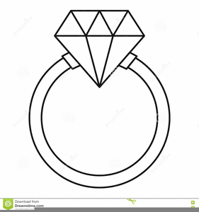 Diamond ring black and white clipart vector freeuse Diamond Ring Clipart Black And White | Free Images at Clker.com ... vector freeuse
