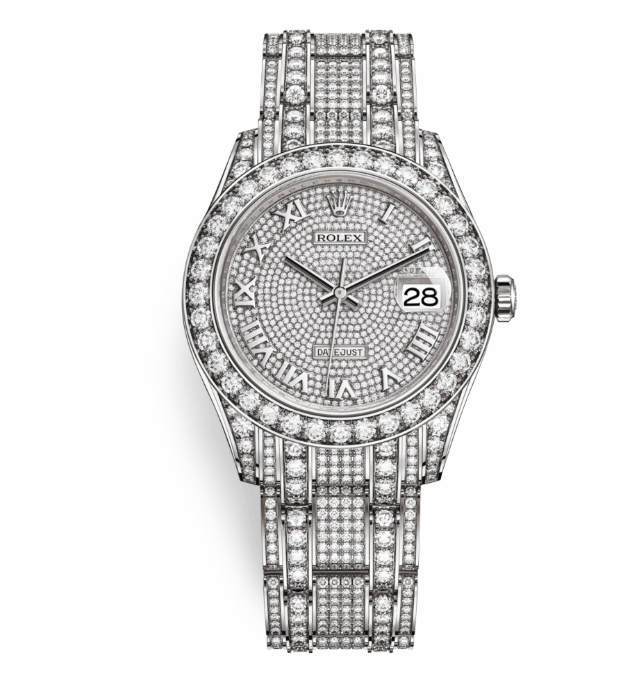 Diamond rolex clipart png freeuse download Rolex Pearlmaster - Rolex Pearlmaster Full Diamond Free PNG Images ... png freeuse download