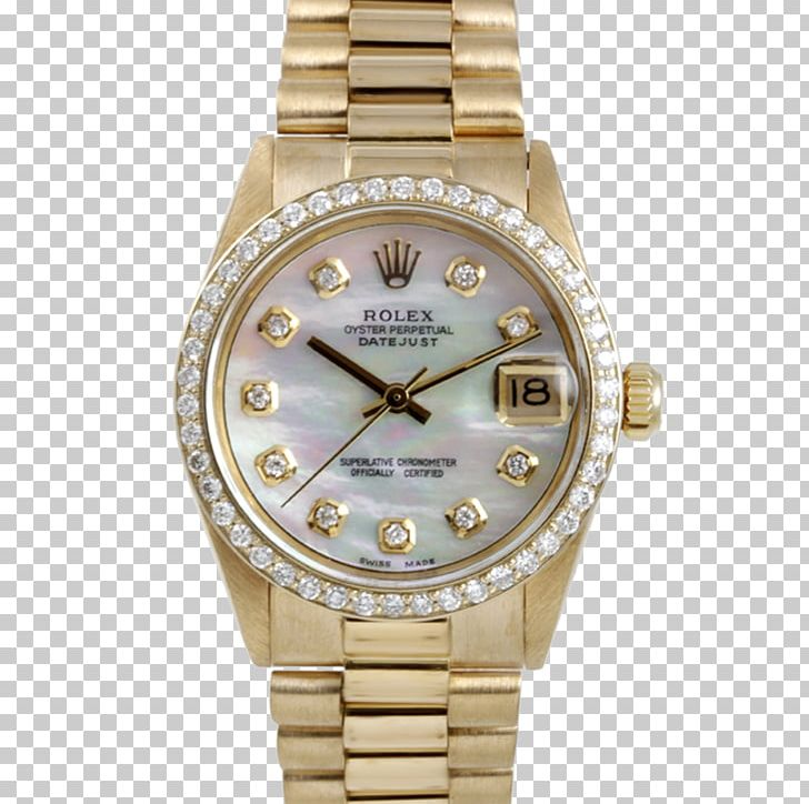 Diamond rolex clipart freeuse library Rolex Watch Colored Gold Diamond PNG, Clipart, Bracelet, Brand ... freeuse library