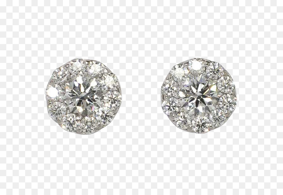 Diamond stud earring clipart picture freeuse Wedding Ring Silver png download - 611*611 - Free Transparent ... picture freeuse