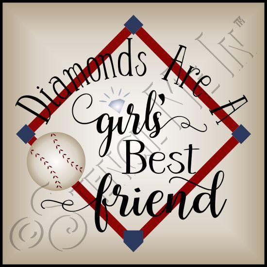 Diamonds are a girl s best friend shirt clipart