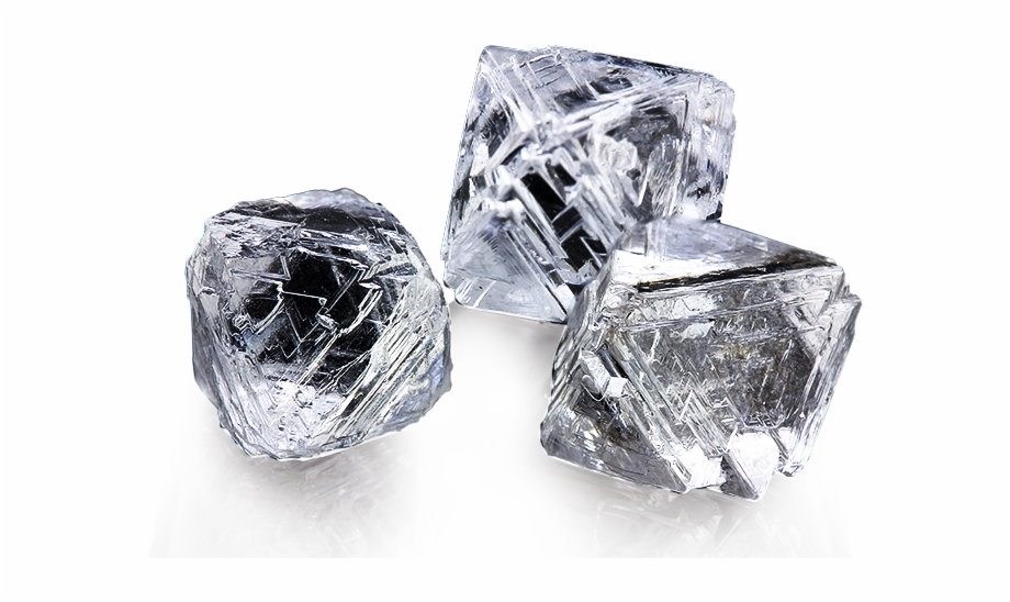 Diamonds in the rough clipart svg royalty free Sourcing Diamonds From Leon Mege - Rough Diamonds Transparent Free ... svg royalty free