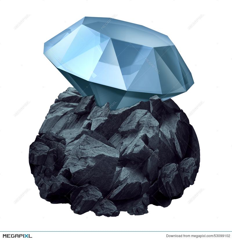 Diamonds in the rough clipart clip art free stock Diamond In The Rough Illustration 53099102 - Megapixl clip art free stock