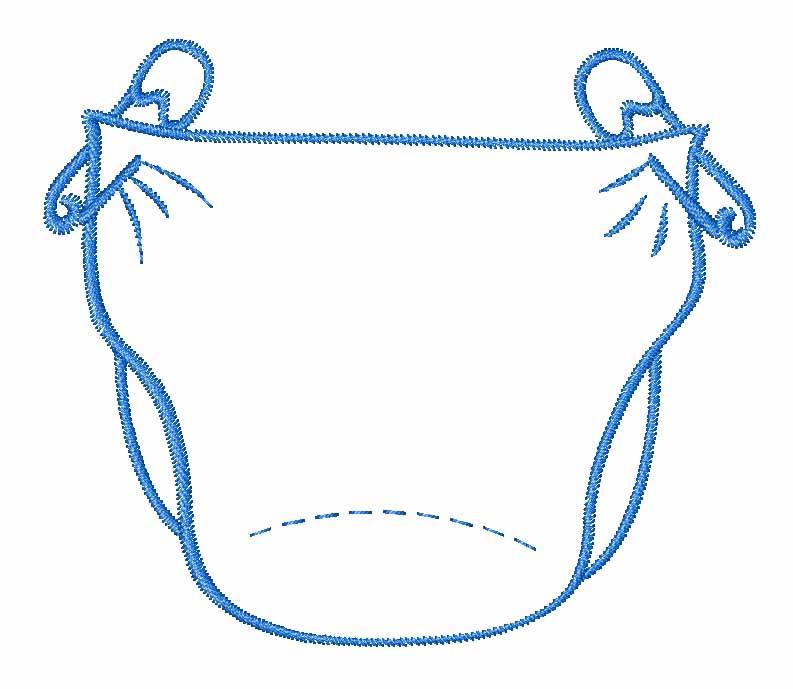 Diaper shower clip art svg free download Diaper Clipart - Clipart Kid svg free download