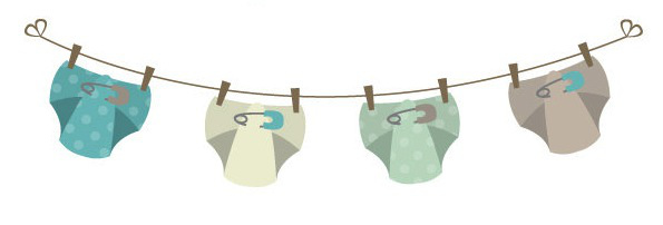 Diapers on the line clipart jpg free library Free Diaper Clothesline Cliparts, Download Free Clip Art, Free Clip ... jpg free library