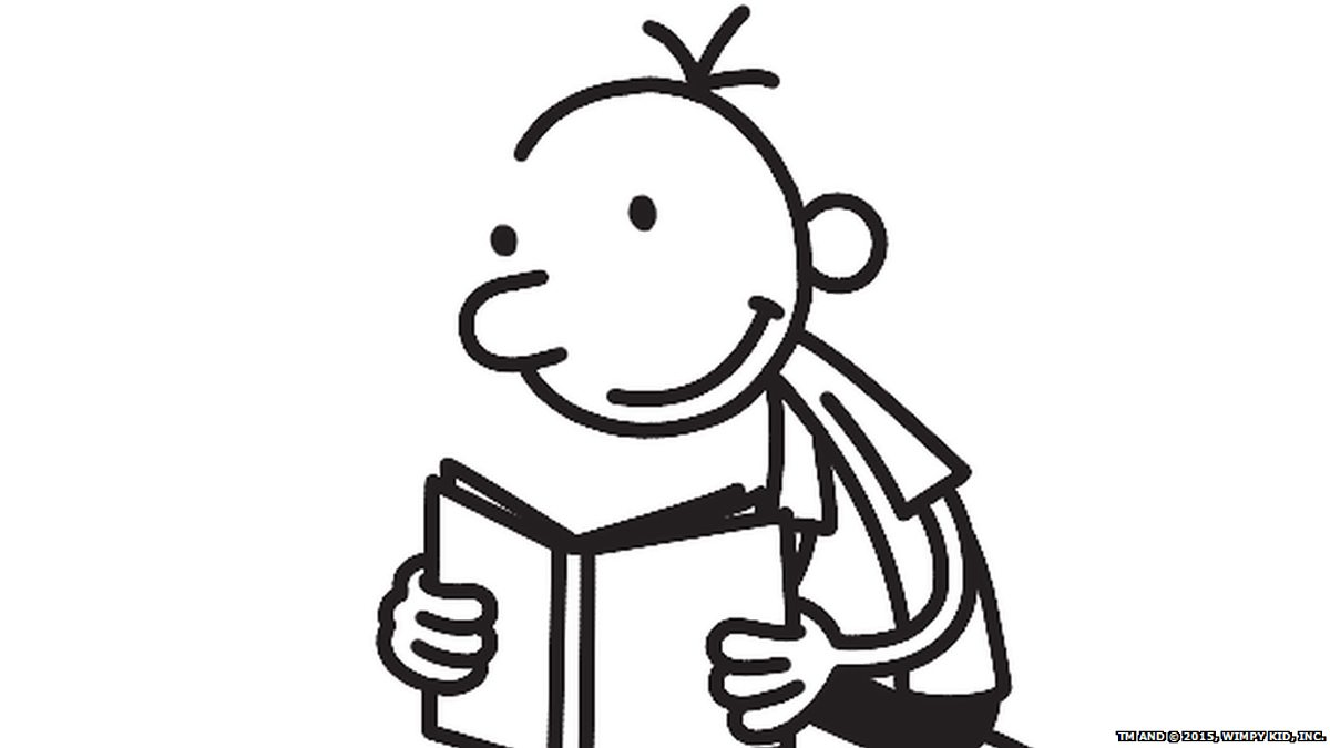 Diary of a wimpy kid clipart vector transparent library BBC World Service - World Book Club, JD Salinger - The ... vector transparent library