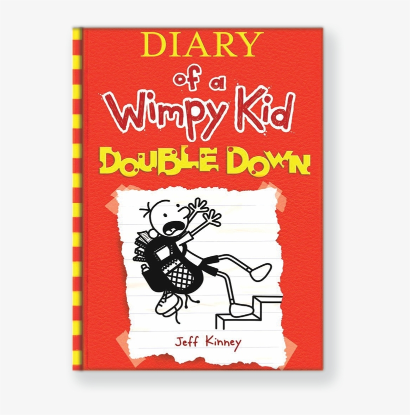 Diary of a wimpy kid double down clipart