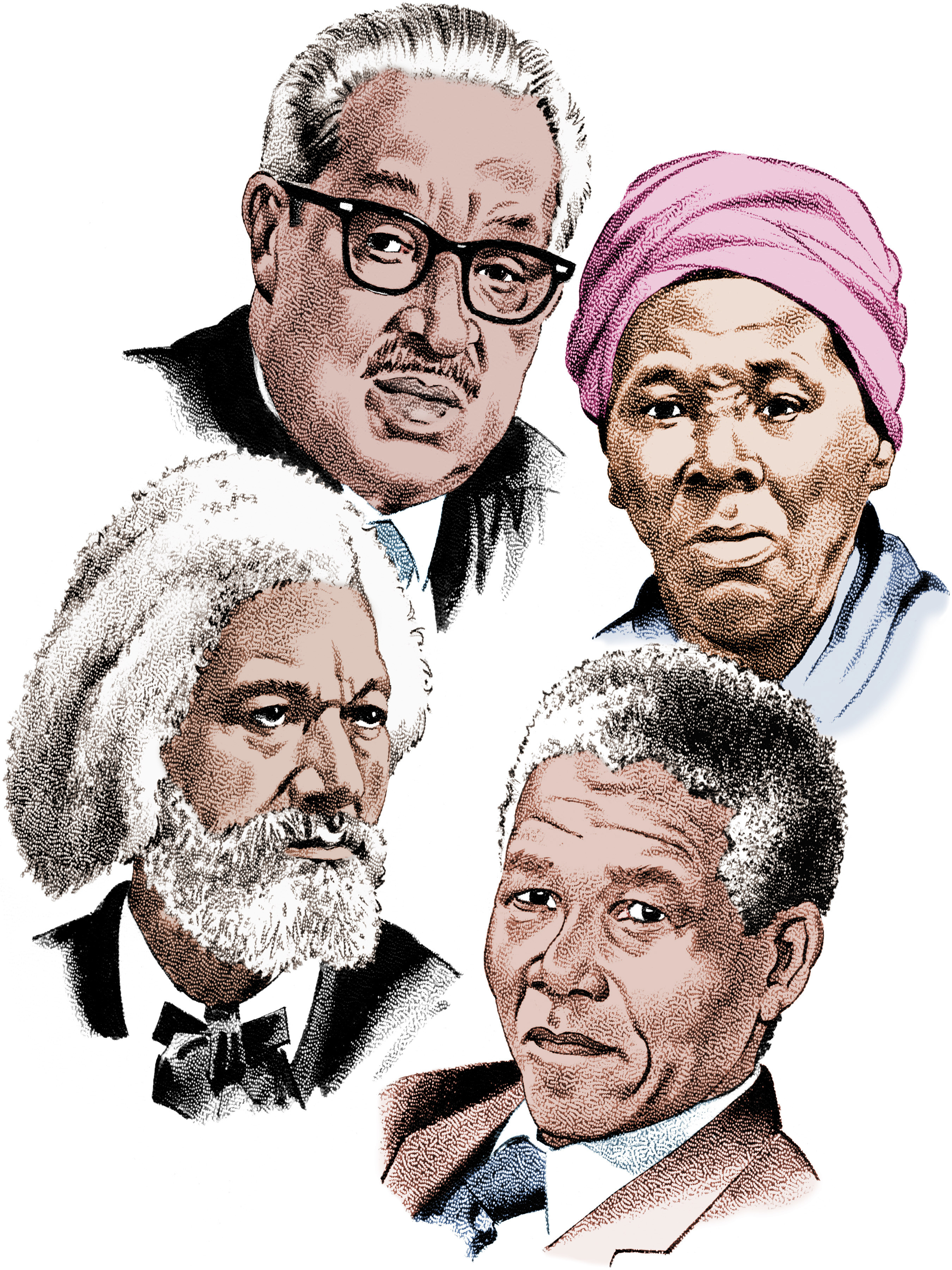 Different people from history images on clipart banner black and white Free Black History Pics, Download Free Clip Art, Free Clip Art on ... banner black and white