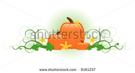 Pumpkins of clipartfest three. Different sizes clipart
