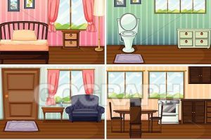 Different types of rooms in a house clipart picture stock Different rooms in a house clipart 2 » Clipart Portal picture stock